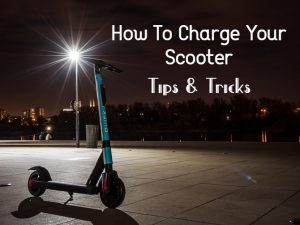 scooter in road