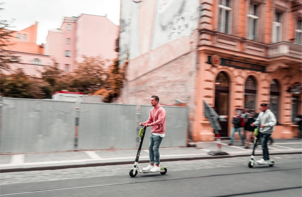 scooter riding prague